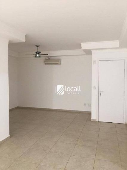 Apartamento Com 3 Dormitórios À Venda, 95 M² Por R$ 450.000 - Jardim Vivendas - São José Do Rio Preto/sp - Ap1883