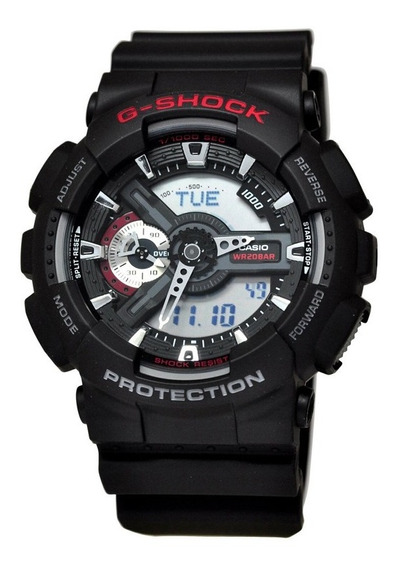 Relógio Casio G-shock Masculino Ga-110-1adr C/garantia E Nf