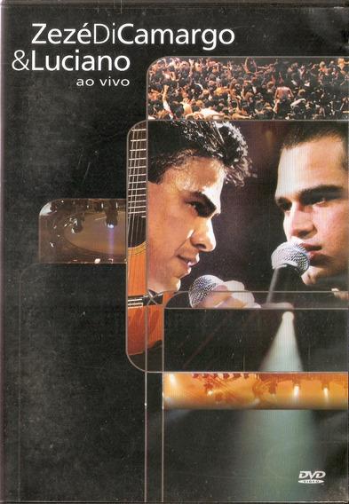 Dvd Zezé Di Camargo & Luciano Ao Vivo - Novo***