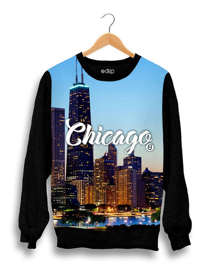 Blusa Dep Chicago Azul Original