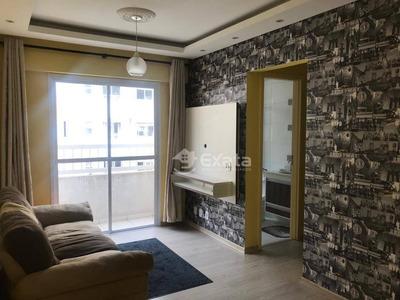 Apartamento Com 2 Dormitórios Para Alugar, 57 M² Por R$ 1.250/mês - Vila Hortência - Sorocaba/sp - Ap0219