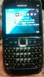 Celular Nokia E63 Caixa Todos Acessórios Conservadissimo