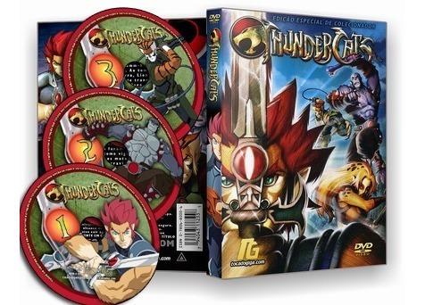 New Thundercats - Completo - Dublado - 3 Dvds