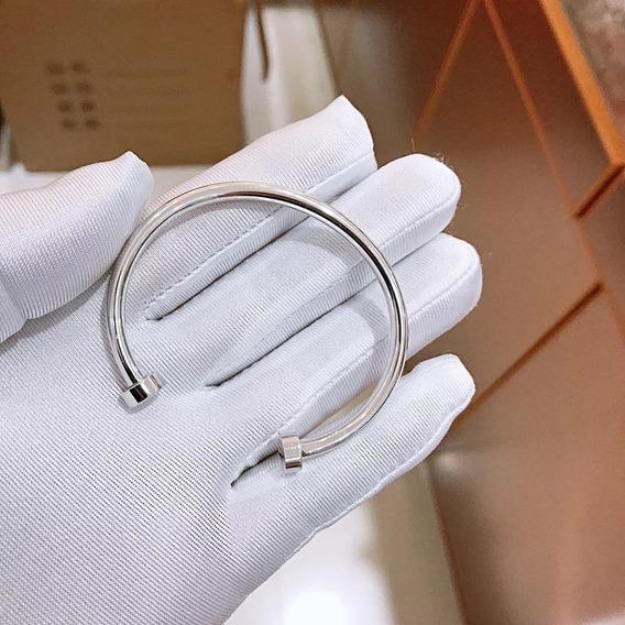 Pulseira Tiff Prata Com Embalagem Bracelete