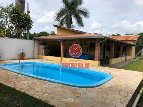 Imagem 1 de 22 de Chácara Com 2 Dormitórios À Venda, 600 M² Por R$ 300.000 - Artemis - Piracicaba/sp - Ch0195