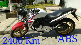 Honda Cb 300 2015 Abs 2400 Km Troco Moto Financio 2015