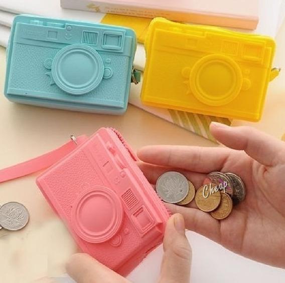 Monedero Billetera Silicona Camara Zero Wallet Cierre