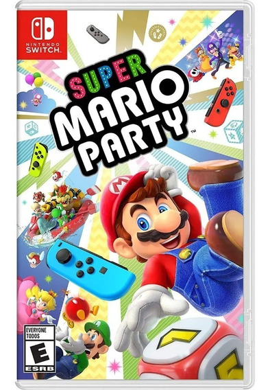 Jogo Switch Super Mario Party - Novo - Lacrado