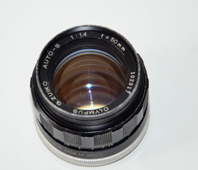 Lente Olympus G Zuiko M42 50mm 1.4 Auto Perfeita Entrego