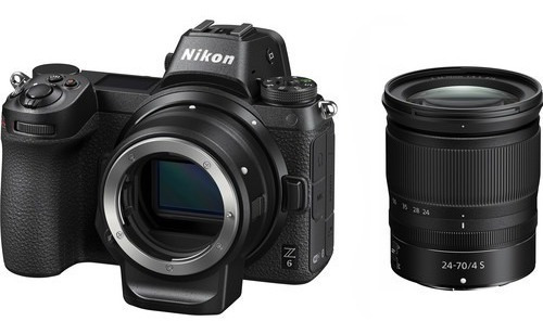 Nikon Z6 Mirrorless Camera E Lente Z 24-70