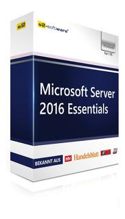 Windows Server 2016 Essentials 64 Bits Español Esd 16 Core