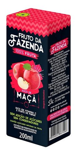 Suco De Maçã 100% Fruta 200ml - Superbom
