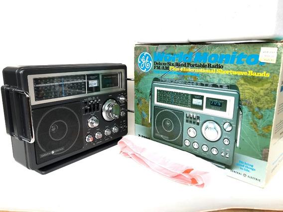 Rádio Antigo General Eletric Modelo: 7-2990a.