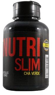 Nutri Slim - Chá Verde 3 Frascos C/ 60 Cápsulas Cada.