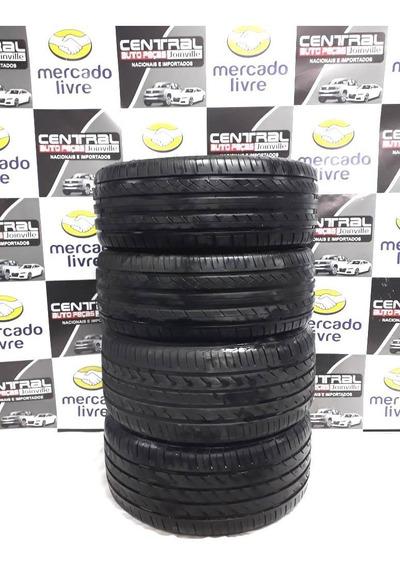 Jogo Pneus Bmw X1 Turbo 2012 2013 2014 255/40 E 225/45 R18