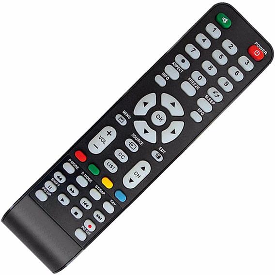 Controle Remoto Tv Cce Stile Rc-512 D4201 D3201 D46 Lcd Led
