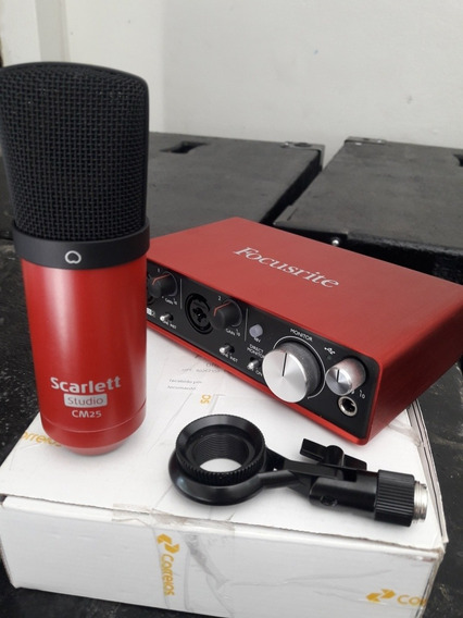 Focusrite Placa De Audio 2i2