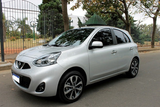 Nissan March 1.6 Advance Media Tech A/t 2020 Impecable