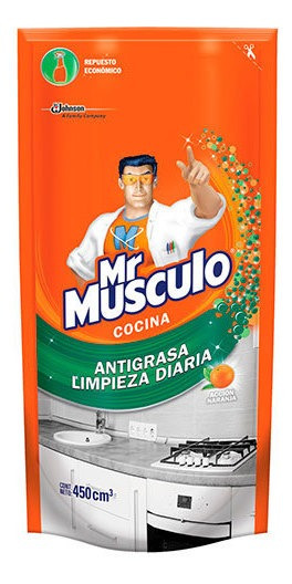 Mr. Músculo Cocina Antigrasa Advanced Doypack 450 500 Ml