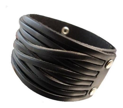 Pulseira De Couro Bracelete Masculina