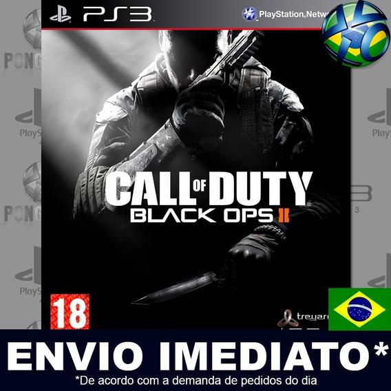 Call Of Duty Black Ops Ii 2 Ps3 Psn Dublado Português Pt Br