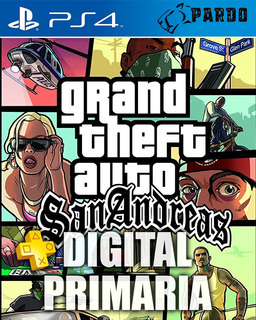 Grand Theft Auto: San Andreas ® + Plus - Ps4 Digital - Pardo