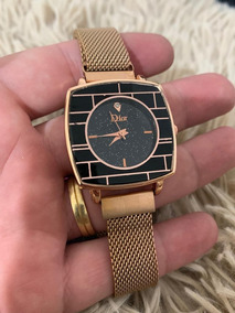 Relógio Feminino Dior Ceu Estrelada Lançamento Pulseira Ima