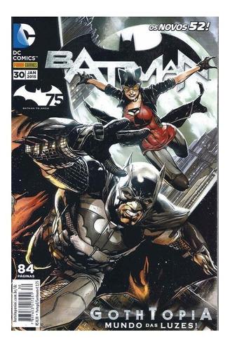 Imagem 1 de 1 de Batman 30 Dc Comics Panini 2015