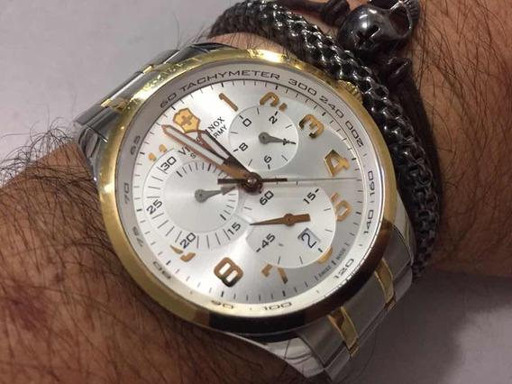 Victorinox Swiss Army Chronograph Wr100m Sapphire Swiss Madr