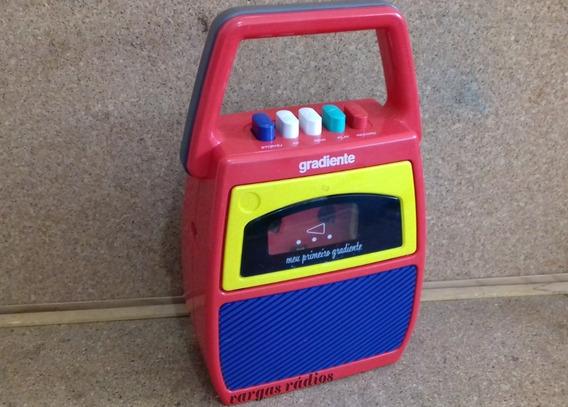 Gravador Meu 1º Gradiente Infantil Portátil Fita K7 Xuxa