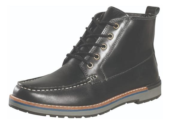 Calzado Bota Hombre Cuero Borcego Dunlop Génesis