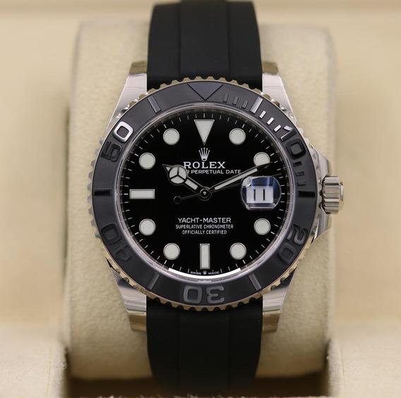 Relógio B. Eta 2840 - Mod. Yacht Master 42mm Aço 904l.