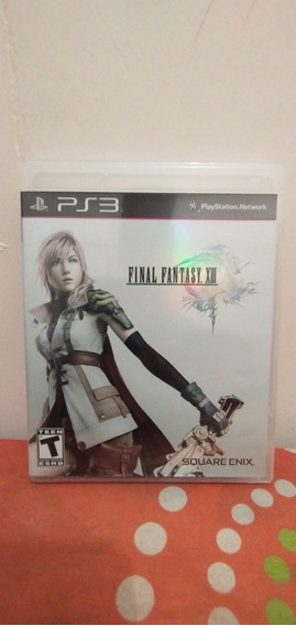 Jogo Final Fantasy Xlll Mídia Física Ps3