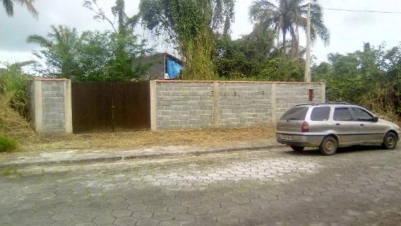 Terreno Totalmente Murado, No Jd Palmeiras, Itanhaém,