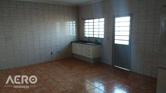 Casa Com 3 Dormitórios Para Alugar, 159 M² Por R$ 800/mês - Parque Santa Edwiges - Bauru/sp - Ca1728
