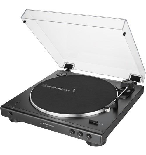 Toca Discos Estéreo Audio-technica At-lp60xbt -bk Bluetooth