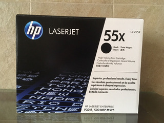 Toner Hp 55x Original Sellado 12500 Copias