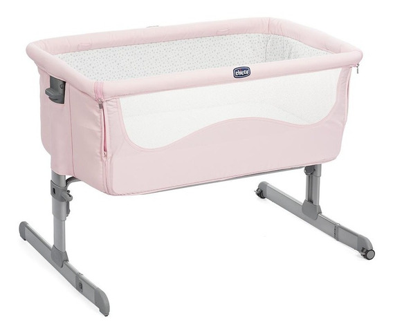 Chicco Cuna Colecho Next2me French Rose, Color Rosa