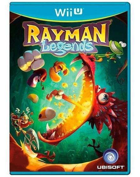 Rayman Legends Wii U Mídia Física Pronta Entrega