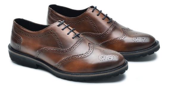 Sapato Casual Social Couro Calçado Numerações Tamanhos Especiais 37-49 Disponíveis Envio Já Promoção Lançamento 2019