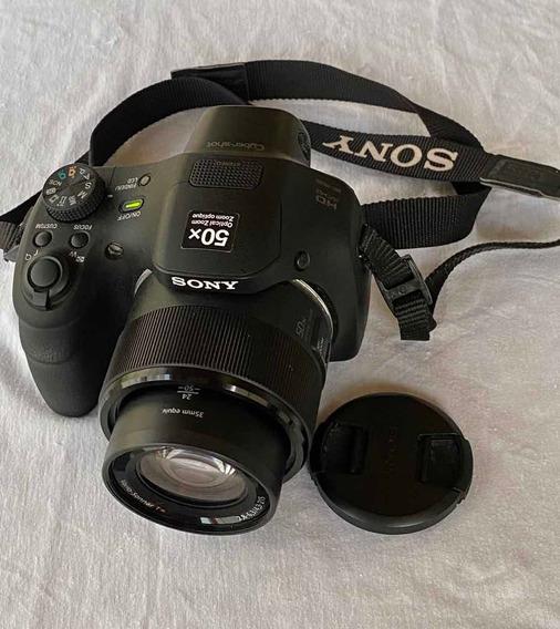Câmera Digital Sony Cyber Shot Hd Dsc-hx 300