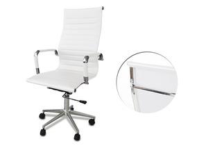 1 Cadeira Presidente Giratória Esteirinha Charles Eames