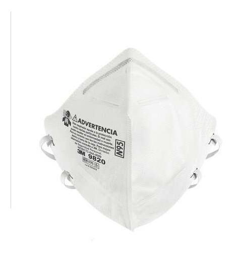 Respirador Para Partículas 3m 9820 N95