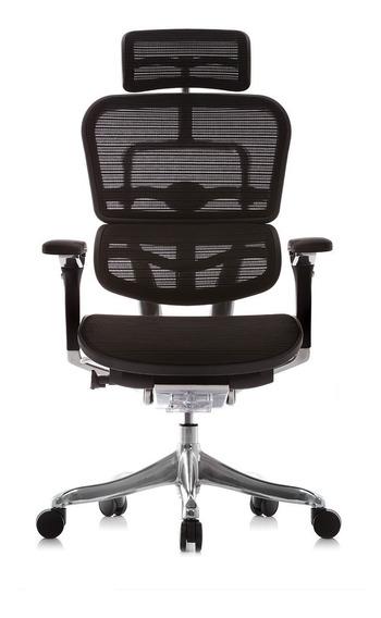 Cadeira Ergonômica Ergoman Luxury (cinza)