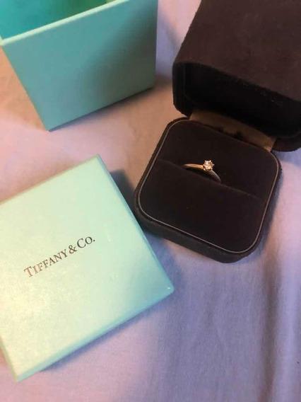 Anel Tiffany & Co. Diamante Com Certificado 0.21 Carat
