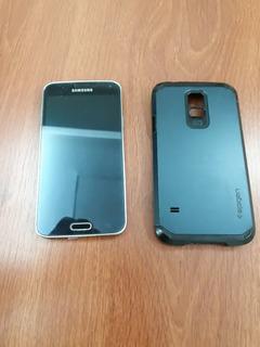 Teléfono Celular Samsung Galaxy S5 Grande Pantalla Dañada