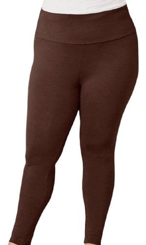 Calça Legging Plus Size G1 G2 G3 Suplex Em Poliéster