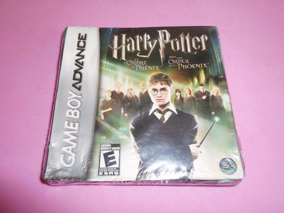 Harry Potter Original Lacrado Para Game Boy Advance Gba