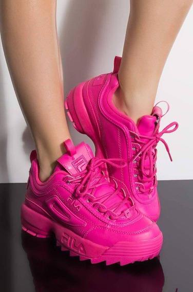 Zapatillas Tenis Fila Disruptor 2 Hardware Mujer Original
