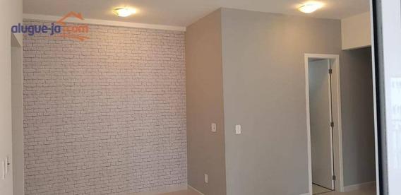 Apartamento Com 2 Dormitórios, Varanda Gourmet, 71 M² Por R$ 1.800/mês - Jardim Aquarius - - Ap7053